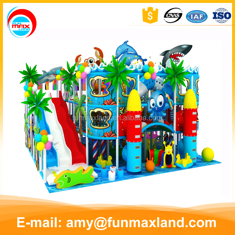 Entertainment park <strong>kids</strong> educational equipment mini indoor playground