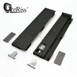 GERISS M0289 Graphite silent soft closing ultra slim cubist metal box drawer system