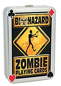 Biohazard Zombie Apocalypse Playing Cards
