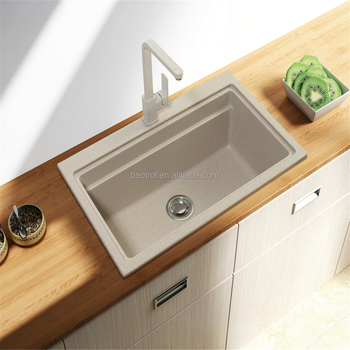 Kitchen Sanitary Fittings Acrylic Resin Wash Basin/composite ...