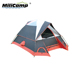 Outdoor hard shell waterproof big size queen bed camping family tent