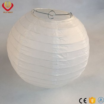 "10 Pack 12"" White Paper Lantern Lamp Shades"