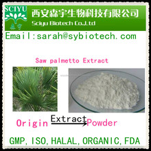 high purity 45% fatty acid Saw palmetto extract
