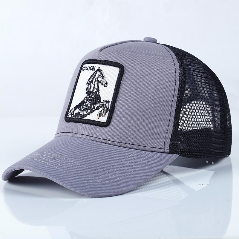 Animales bordado gorra de béisbol hombres mujeres hip hop streetwear malla  casual. Gorra deportiva ajustable para exteriores de granja de marca de  lujo ... 7bec8f9431a