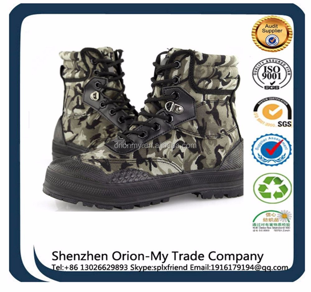 Army Boots Tactical Boot Jungle boot military army leather factory manufacturer tactical desert altama british army
