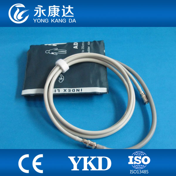 HOT!!Best price NIBP cuff interconnect tube,compatible drager air hose with CE&ISO