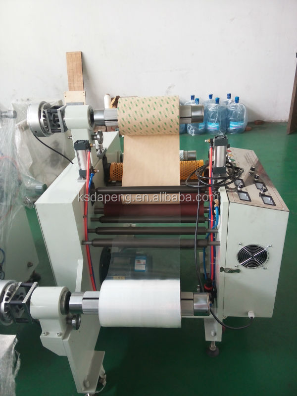 Automatic Kiss Cut Slitting Machine For Paper And Adhesive