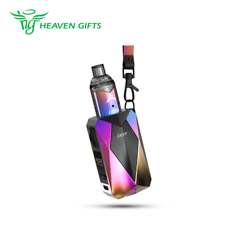 Multi-faced diamond cutting technology Vape hardware I JOY pod e cig 1400mAh IJOY Diamond VPC Kit