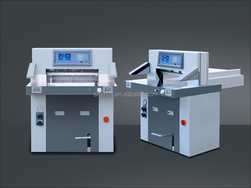 electric paper cutting machine/automatic paper cutter/program paper guillotine