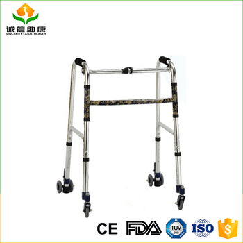 Factory Price High Quality Aluminum Frame 3 Wheel Walkers For ...