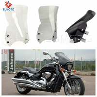 ZJMOTO High Quality Polycarbonate Transparent Motorcycle Windshield For Suzuki Boulevard M109R 06-16