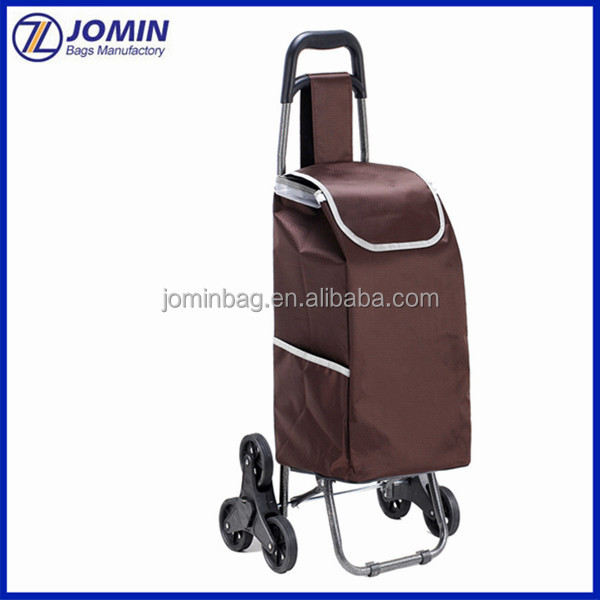 Super Market Vegetable Carry Bag With Wheels Custom Made Ping On