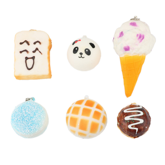 Bag Parts & Accessories High Quality 7cm Kawaii Jumbo Panda Squishy Charms Buns Bread Cell Phone Key/bag Strap Pendant Squishes Bag Accessories To Enjoy High Reputation In The International Market