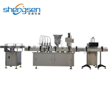 Hot Selling Automatic Bottle Filling Capping Machine