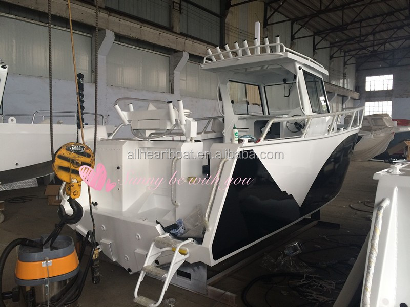 Small aluminum fishing cabin hardtop boat outboard engine Aluminum boat and motor packages