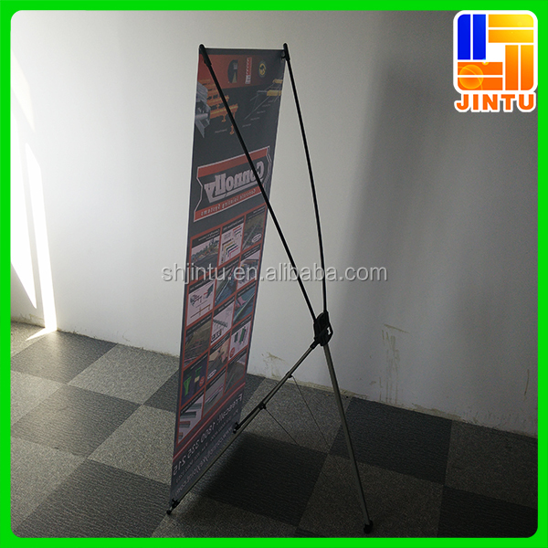 Messe-display ukuran x-banner stand