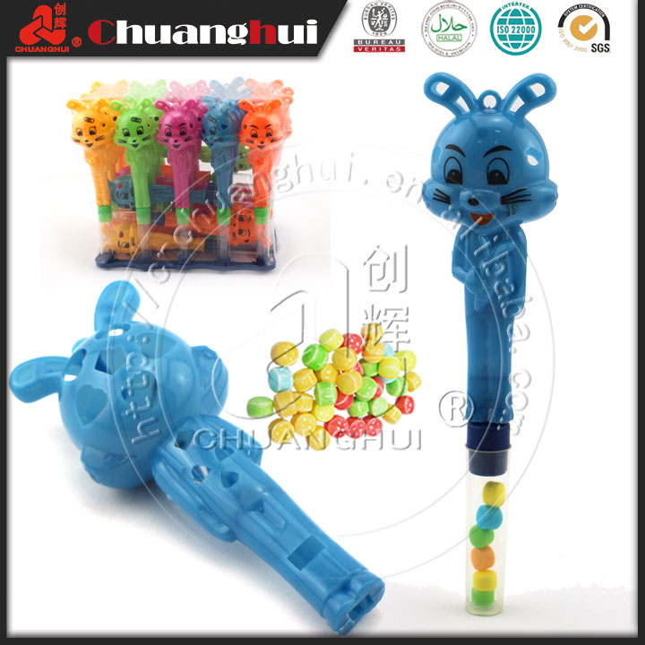 Rabbit Whistle Candy Toy