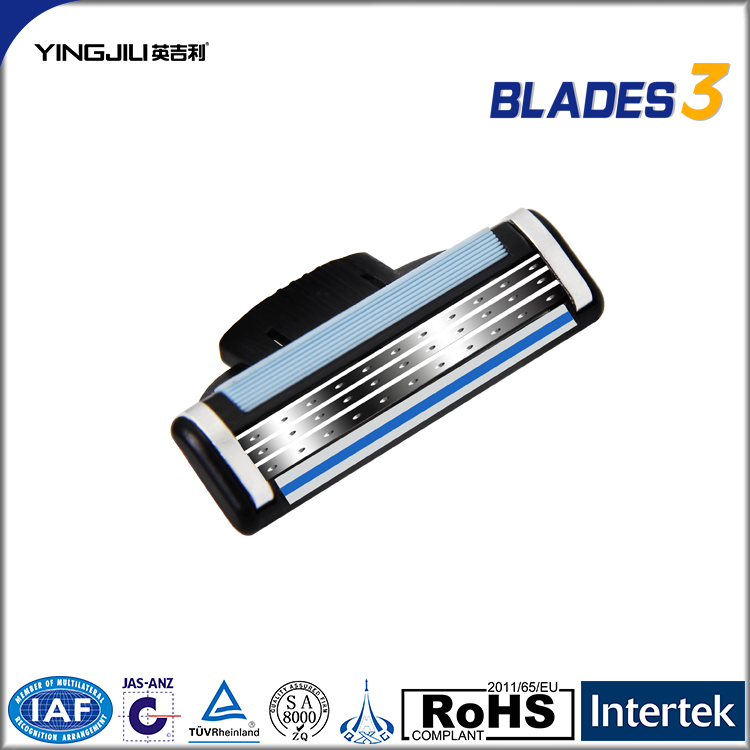 ISO9001 Certified blades for shaving high quality razor blade brand name razor blades