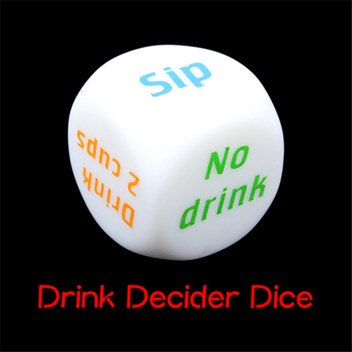 NEW Drink Decider Die party dice drinking games