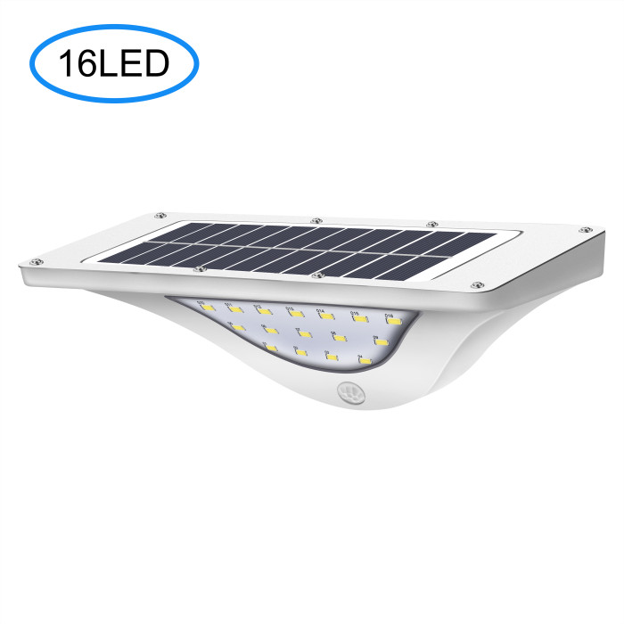 16 LED solar power wand led licht