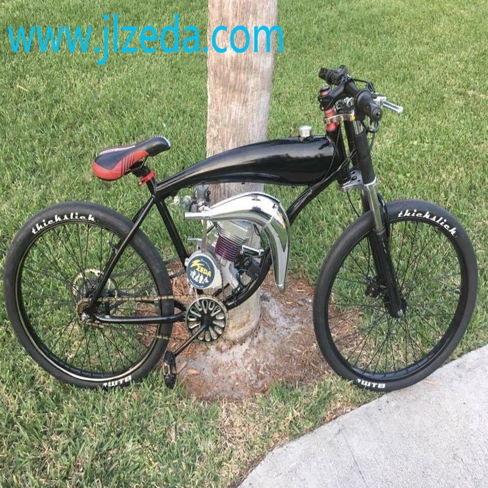 Moteur /à essence de bicyclette Moteur /à essence Kit moteur 80CC v/élo /électrique /à essence v/élo /électrique 2 temps
