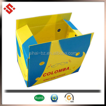 PP Foldable Plastic Boxes For Vegetables Packing Material
