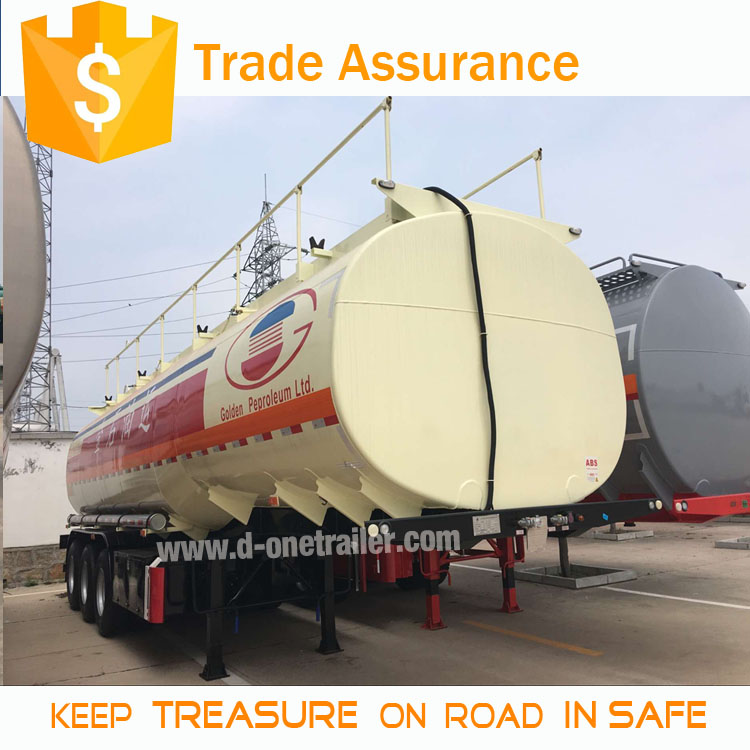 45000 litres crude oil trailers fuel tank Trailer Truck For Sale in oman