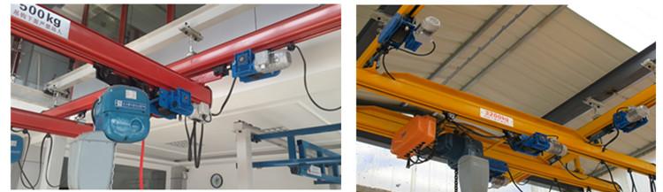 Neueste Upgrade manuelle reisen hand trolley für KBK kran system