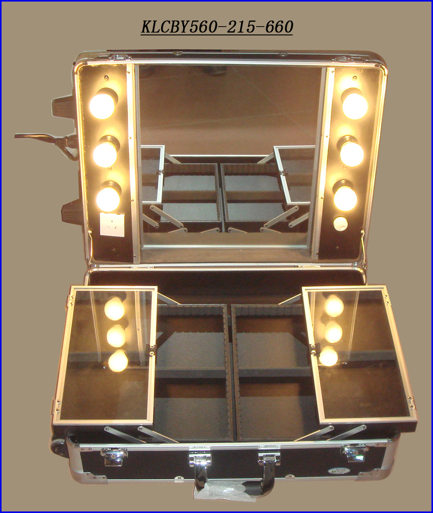 Vanity Mirror With Lights Phone Case : Portable Vanity/dressing Desk Case With Lighted Mirror Klcby560-215-660 - Buy Portable Vanity ...