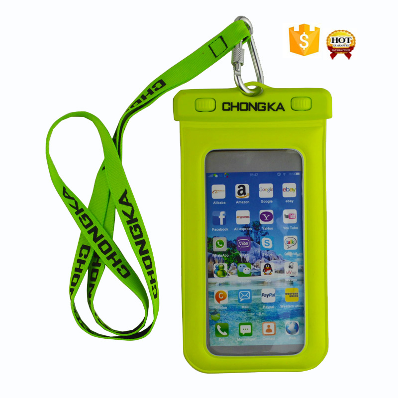New Fashion Phone Accessory PVC Waterproof Bag For Swimming