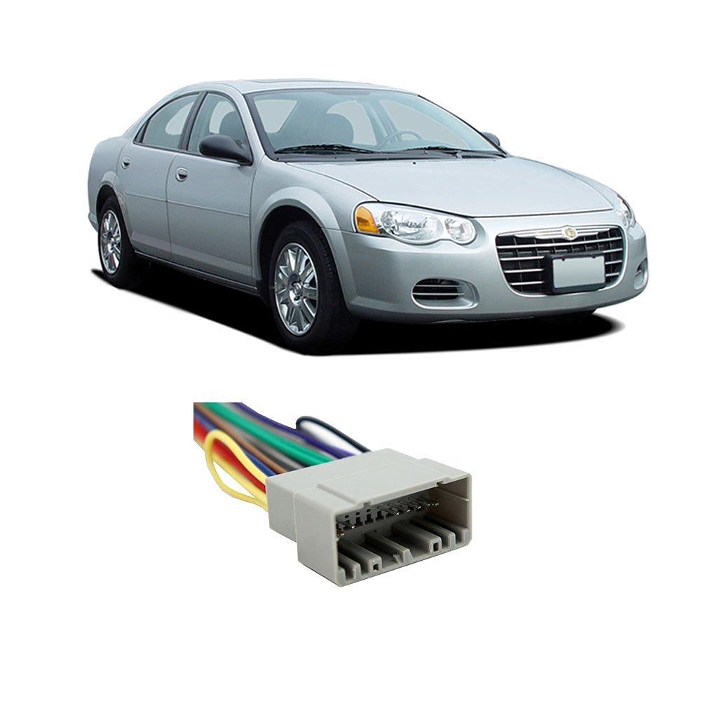 Chrysler Sebring Sedan 2002-2005 Factory to Aftermarket Radio Harness Adapter