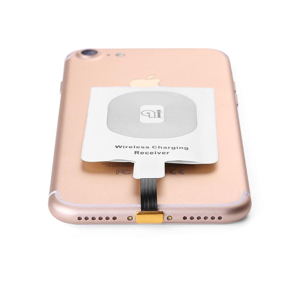 Qi Wireless Charger Ricarica Ricevitore Patch Modulo Chip per iphone 5 6 6 più 6 S 7 7 plus Wireless ricevitore