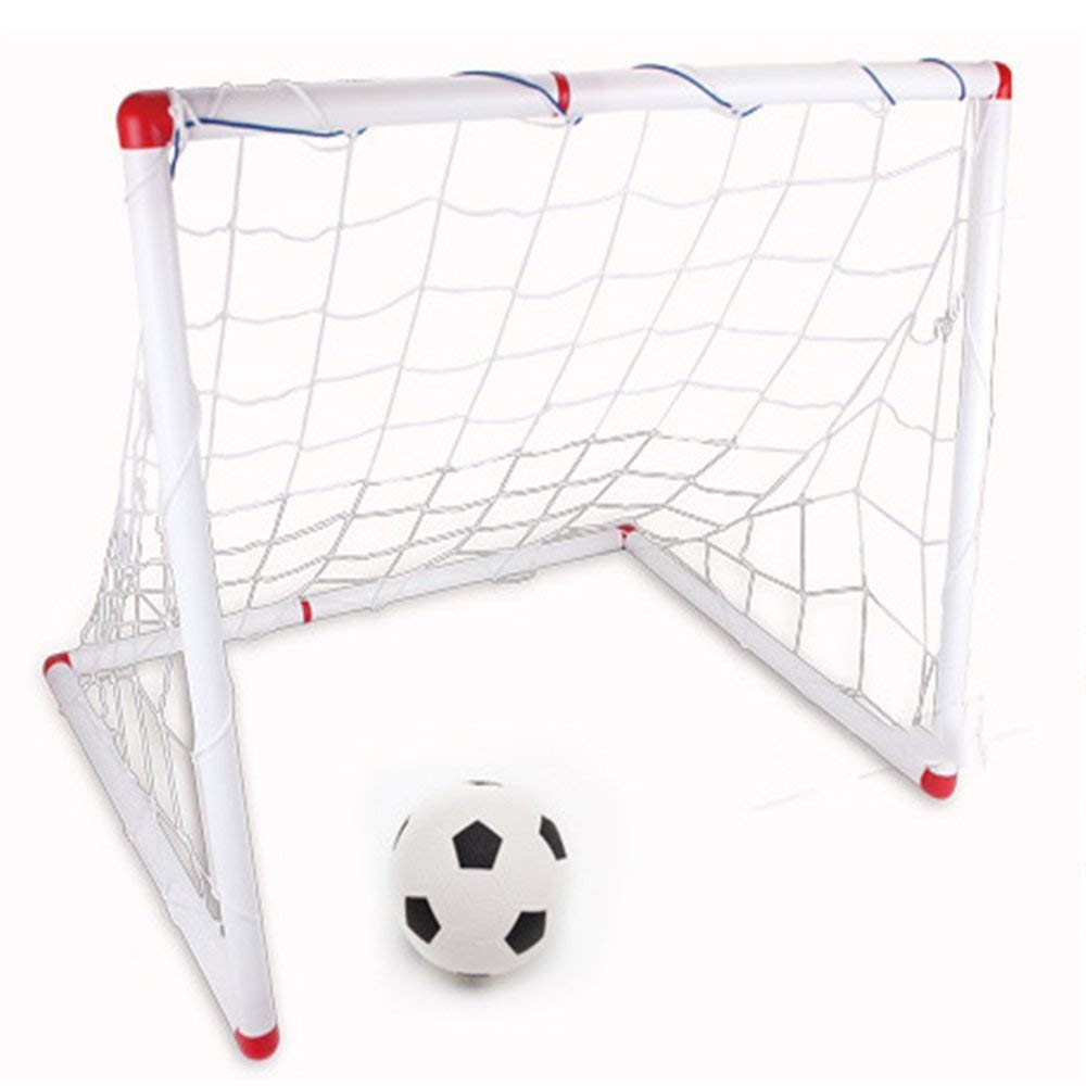 239c4c73e DYHQQ Pop Up Soccer Goal Sizes 4 And 5 Two Portable Soccer Nets With Carry  Bag