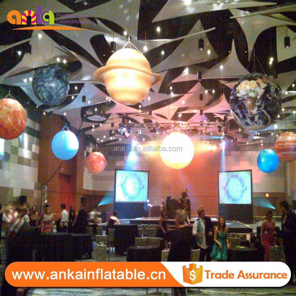 2014 event decor balloon type gaint inflatable illumination PVC balloon