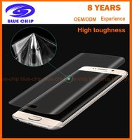 Ultra-Thin Clear Curved s7 edge screen protector 3d full cover pet screen protector for Samsung galaxy s7 edge