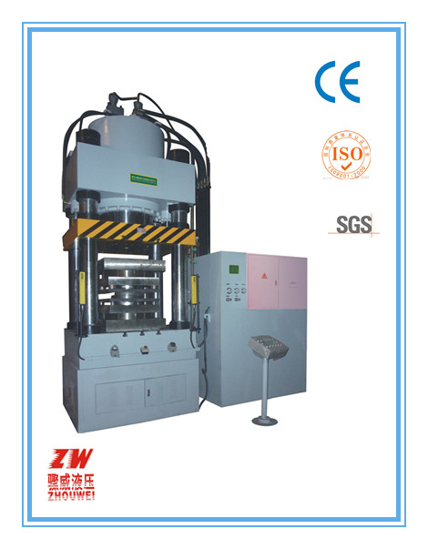 horizontal Cold-extrusion hydraulic press for metal forming