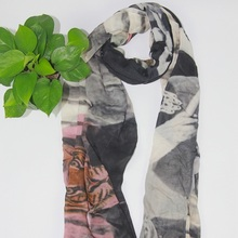 factory direct new design hijab scarf digital printing viscose modal scarf