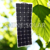 135W bendable 30 degree flexible solar panel kit