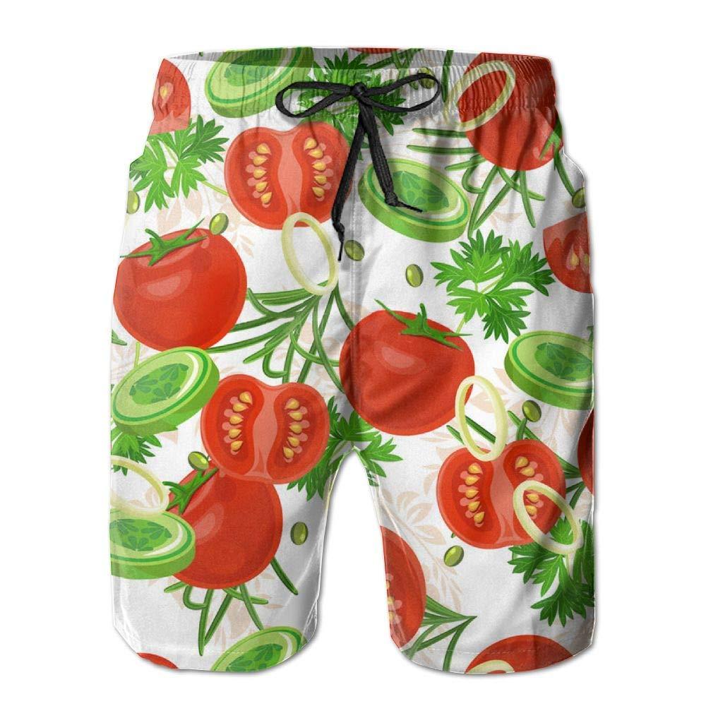 0ec680435f Aivtalk Men Boys Summer Sports Fast Dry Drawstring closure Board Shorts  Swim Trunk Swimwear Red XL Swimwear
