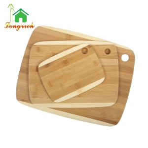 Durable professional cooking concepts organic wooden bamboo cutting boards for kitchen