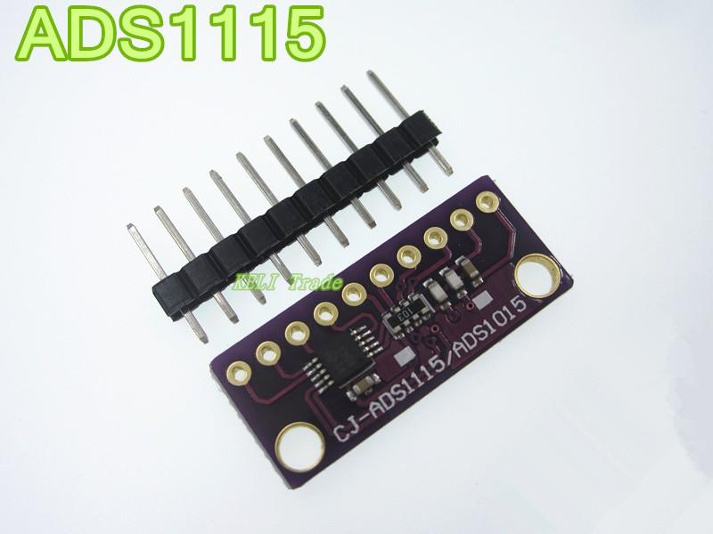 5PCS/LOT I2C ADS1115 16 Bit ADC 4 channel Module with