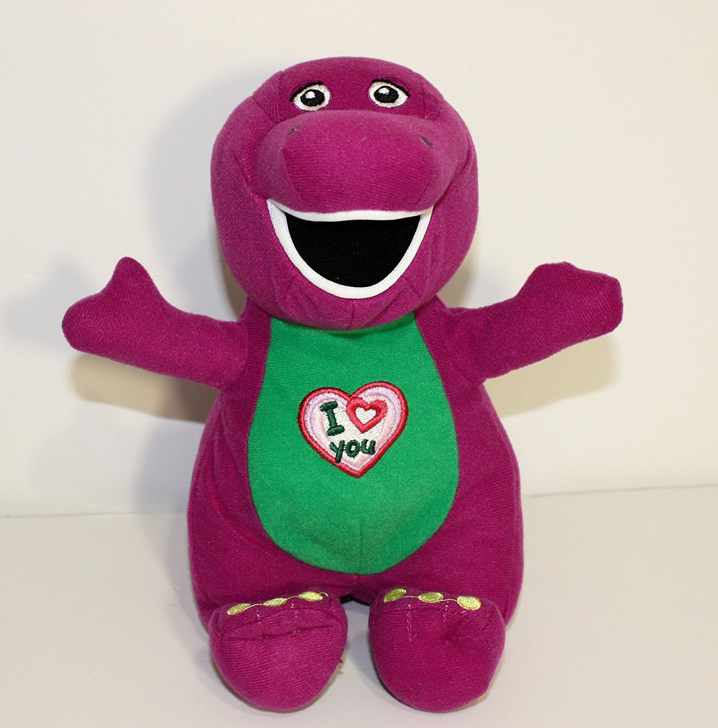 "Barney Plush Singing ""I Love You"" 8"""