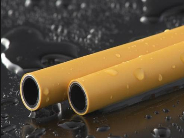 Aluminium-plastic Composite Pipe/overlap Butt Welded Pe-al-pe yellow gas Pipes