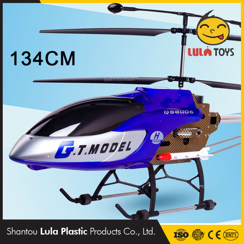 3.5CH giant remote control styrofoam toys airplane rc helicopter RTF built in GYRO outdoor model supper large scale rc airplane