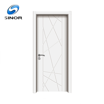 Australian White Pvc Coated Interior Mdf Wood Grain Door Buy Mdf