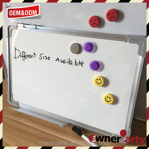 wall mounted good whiteboard price with marker white board sizes
