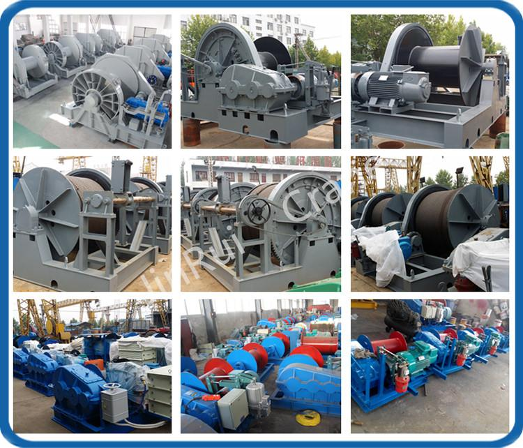 Boat Anchor Handling Towing Winch 6 ton Electric Hydraulic Winch Manufacturer