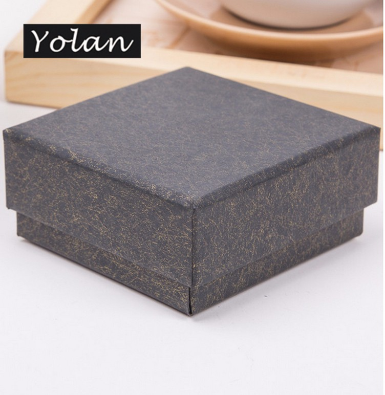 low-price luxury gift box packaging paper jewelry box custom logo manufacturer Yiwu