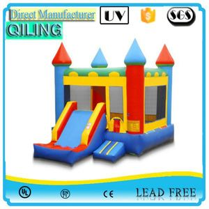 Hot selling long ben ten bouncy castle exporter