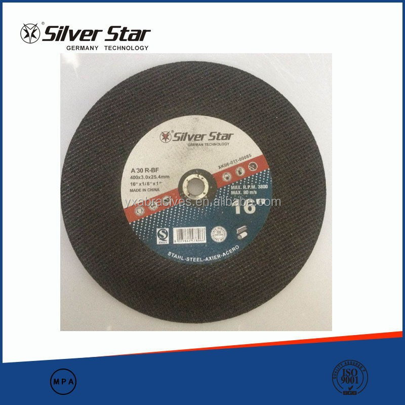 16 inch large size cutting wheel